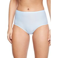 Chantelle Soft Stretch Full Briefs, Pale Blue