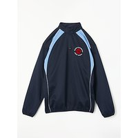 New Year 7 - Queen Elizabeth's Girls' School Tracksuit Top, Navy