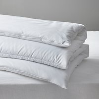 John Lewis and Partners Synthetic Lightweight Warmth Duvet, 13.5 Tog