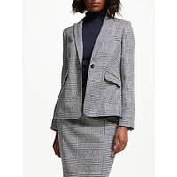 Boden Bath British Tweed Blazer, Navy Hotch Potch