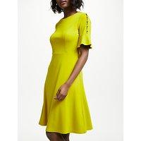 Boden Alexis Jersey Dress, Hot Mustard