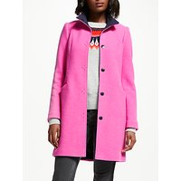 Boden Hengrave Coat, Pop Pansy