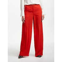 Boden Marlin Wide Leg Trousers, Post Box Red