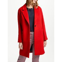 Boden Holywell Coat, Post Box Red