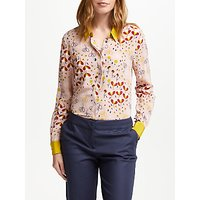 Boden The Silk Shirt, Milkshake