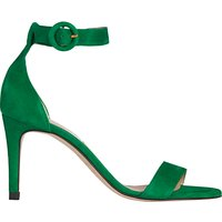 L.K.Bennett Dora Stiletto Sandals, Green Suede