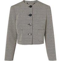 L.K.Bennett Mableen Jacket, Sloane Blue/Cream