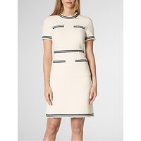 L.K.Bennett Susanna Tweed Dress, Cream
