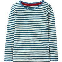 Mini Boden Girls' Sparkly Pointelle T-Shirt