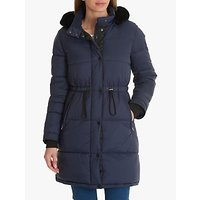 Betty Barclay Quilted Drawstring Jacket, Eclipse