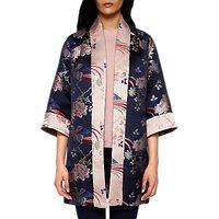 Ted Baker Diamona Jacquard Kimono, Blue