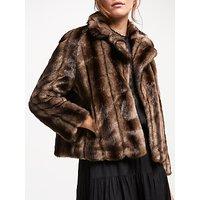 Swildens Trial Faux Fur Coat, Brown