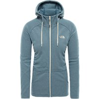 The North Face Mezzaluna Women's Hoodie, Rabbit Grey Stripe