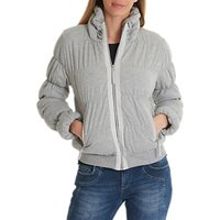 Betty Barclay Padded Jacket, Light Silver Melange