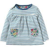 Mini Boden Baby Reversible T-Shirt, Multi