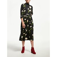 Finery Gilly Floral Print Midi Dress