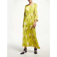 Finery Fowler Fuchsia Dress, Lime Daisies