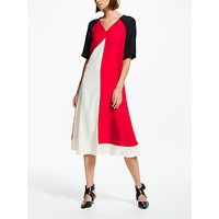 Finery Astrid Colour Block Midi Dress, Multi