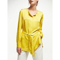 Finery Wilda Tie Back Blouse, Sunglow Yellow