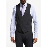 John Lewis and Partners Tailored Waistcoat, Black