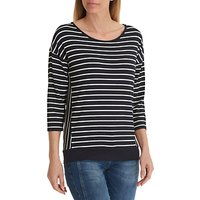 Betty Barclay Striped Top, Blue/White