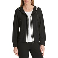 Betty Barclay Stripe Detail Hoodie, Black
