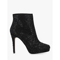 shop for Carvela Sketch Jewelled Stiletto Heel Ankle Boots, Black at Shopo