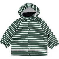 Polarn O. Pyret Baby Rain Jacket, Green, 12-24 months