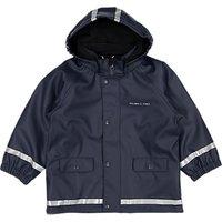 Polarn O. Pyret Children's Raincoat, Navy