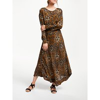 Stella Forest Balinaise Print Maxi Dress, Hazelnut