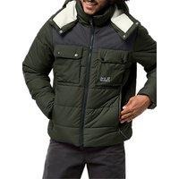Jack Wolfskin High Range Insulated Men's Jacket, Pinewood