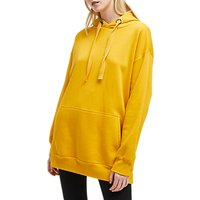 French Connection Alvar Long Hoodie, Calluna Yellow