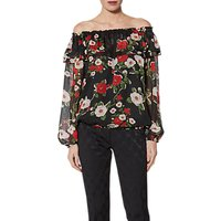 Gina Bacconi Portia Top, Black
