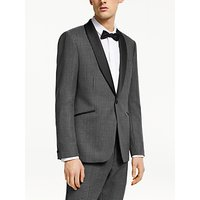 Kin Graphic Weave Slim Fit Dress Suit Jacket, Grey
