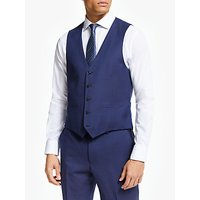 shop for John Lewis & Partners Regular Fit Birdseye Waistcoat at Shopo