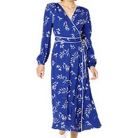 Ghost Tasmin Avalon Petals Print Dress, Blue