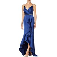 Adrianna Papell High Low Cascade Dress