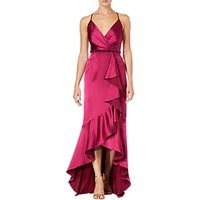 Adrianna Papell High Low Cascade Dress