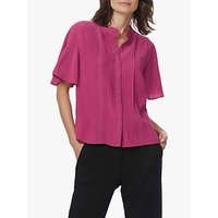 Brora Pintuck Silk Blouse