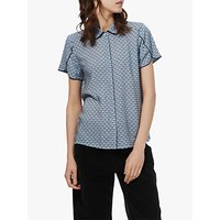 Brora Liberty Print Tulip Blouse, Ink Deco