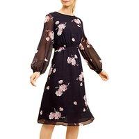 Fenn Wright Manson Primrose Dress, Dark Blue