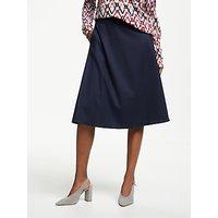 Gerry Weber A-Line Wool Mix Skirt, Dove Blue