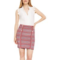 shop for Damsel in a Dress Lyn Stripe Knitted Skirt, Multi at Shopo