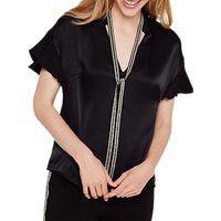 Damsel in a Dress Marianna Beaded Collar Blouse