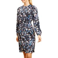 Fenn Wright Manson Sloane Floral Dress, Midnight Blossom