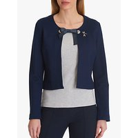 Betty Barclay Jacket With Brooch, Peacoat Blue
