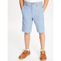 John Lewis and Partners Heirloom Collection Boys Oxford Shorts, Blue