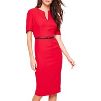 Damsel In A Dress City Fitted Dress, Red