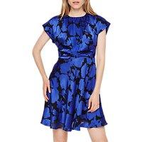 Damsel in a Dress Elsa Devore Dress, Blue/Black