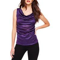 Damsel in a Dress Gia Foil Jersey Top